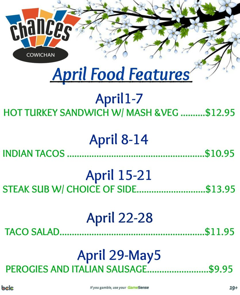April Food Features