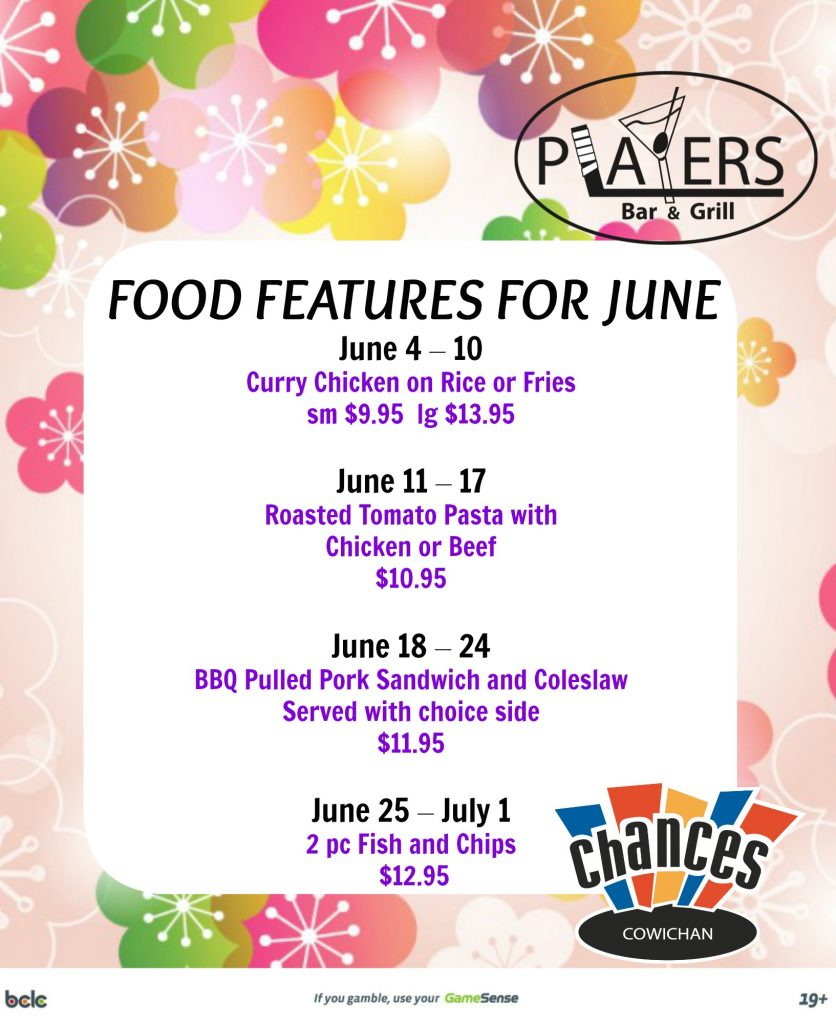 Food Features JUNE