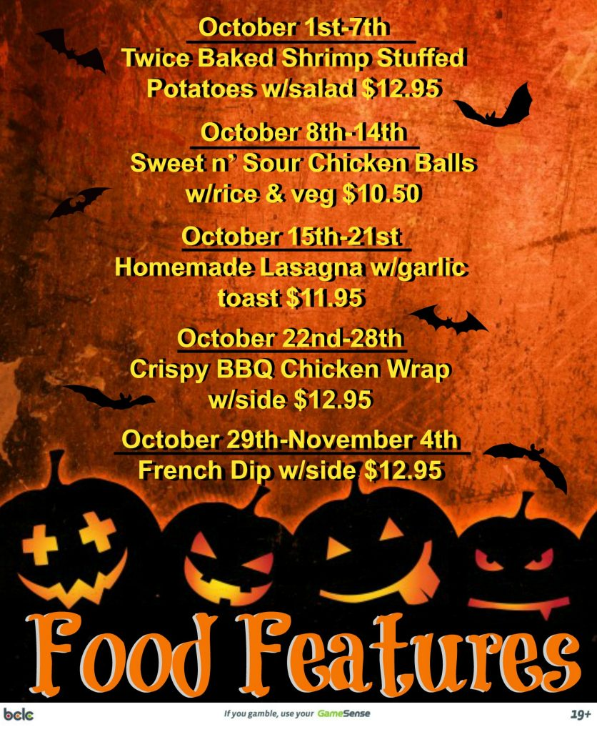 Food Features-October