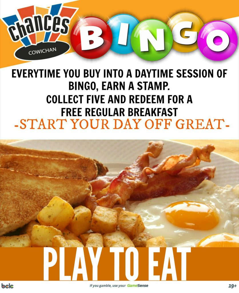 PLAY TO EAT- BINGO-SEPT
