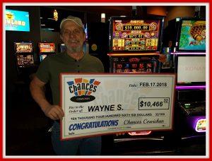 Jackpot winner Feb 2018