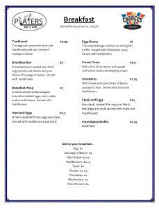 New menu 1